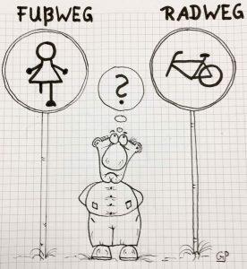 Gerd Paegert - Fuss- und Radweg