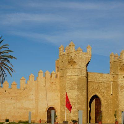 Die Chellah in Rabat mit einem wunderschönen Garten