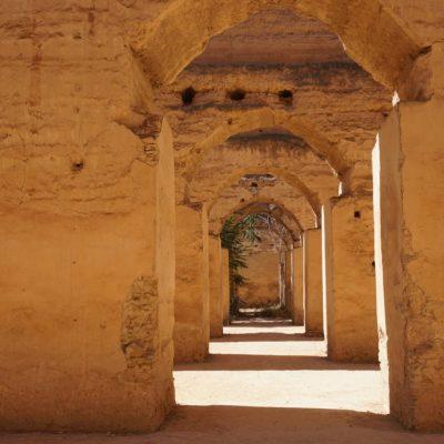 Speicherbauten und Stallungen Heri es-Souani in Meknés