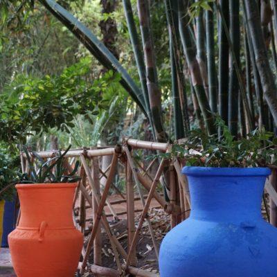 Jardin Majorelle (Majorelle-Garten) von Yves Saint Laurent in Marrakesch