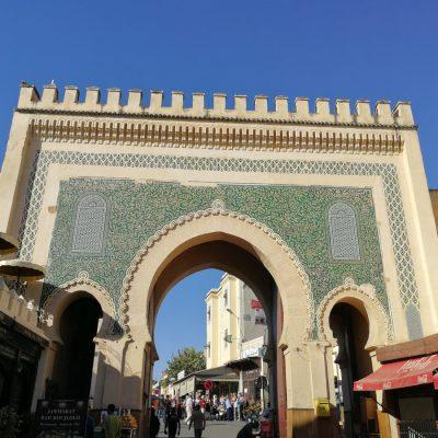 Das blaue Tour in Fés, Eintritt in die Medina (Altstadt)